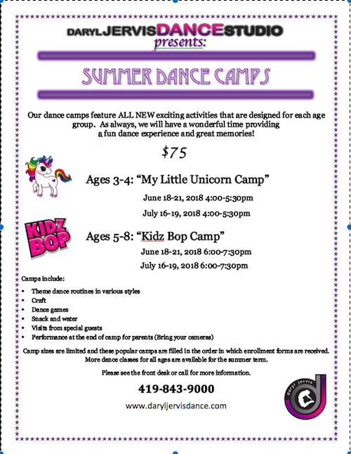 It's Time to Register for SUMMER CAMPS
