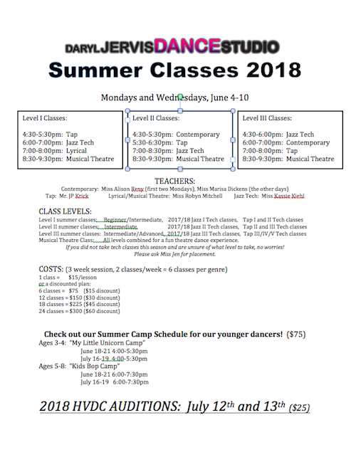 It's Time to Register for Summer CLASSES