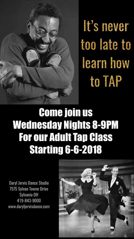 Adult Summer Tap – Wed 8-9pm